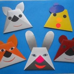 «Театр дома. Идеи для театра оригами»