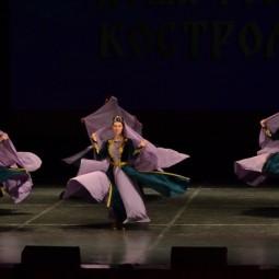 Показ записи хореографической композиции «Виноградная лоза»