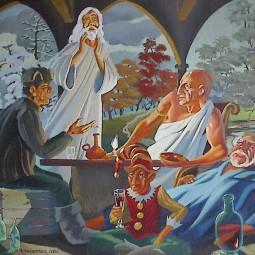 Виртуальная выставка живописи «Миры Владимира Краснопевцева»