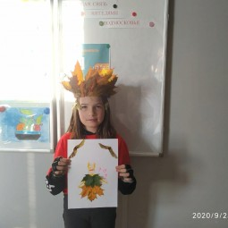 Конкурс детских рисунков«Я рисую осень».