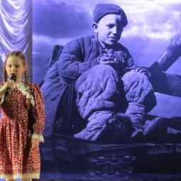 Торжественный вечер «Линия фронта прошла через детство»
