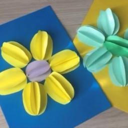 Виртуальный мастер-класс «Объемные цветы»