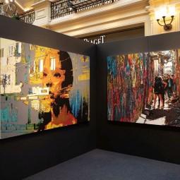 Выставка работ А. Марковой «Невесомость»
