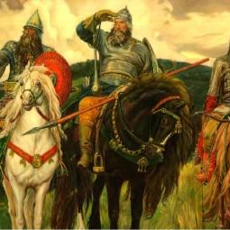 Литературная игра «По заставам богатырским, по Руси былинной»