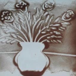 Творческое занятие «Рисование песком»