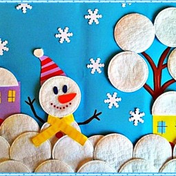 Мастер–класс «Снеговичок»