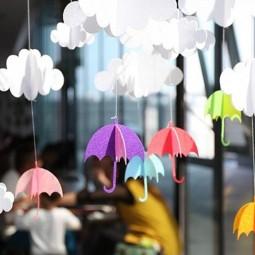 Игровая программа «Разноцветные зонты небывалой красоты»