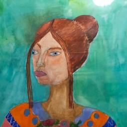 Выставка «Весна и мама»