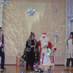 Новогодняя сказка «Волшебный посох Деда Мороза»