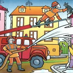 «Пожарные– люди отважные, во все времена очень важные!»»