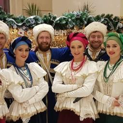 Праздничный концерт Московского казачьего хора