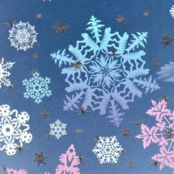 Виртуальное занятие «Снежинка»
