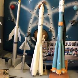 Выставка прототипов моделей ракет «Дорога к звёздам»