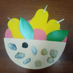 Мастер-класс «Тарелка с фруктами»