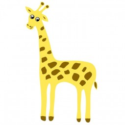 Видеоурок «Рисуем жирафа»
