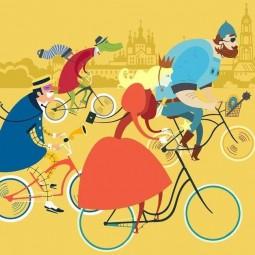 Костюмированный вело парад.