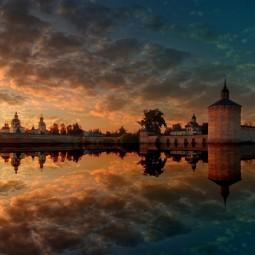 Выставка Русского географического общества «Монастыри России»