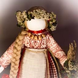 Онлайн-мастер-класс «Большая тряпичная кукла»
