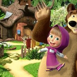 Спектакль «Маша и Медведь. Очень детективная история. Да-да!»