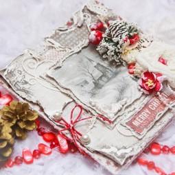 Мастер–класс «Новогодняя открытка»