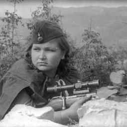 Видеолекция «Советские женщины-снайперы в годы Великой Отечественной войны»