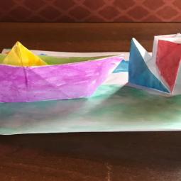 Виртуальный мастер-класс «Школа оригами»