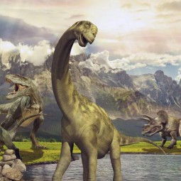 Спектакль «Путешествие к динозаврам»