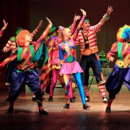 Показ записи хореографической композиции «Цирк»