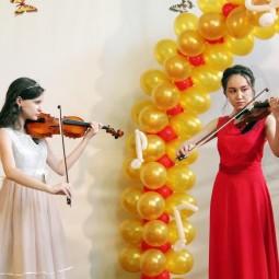 Отчётный концерт оркестрового отдела «Весенняя капель»