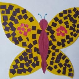 Бабочка мозаика