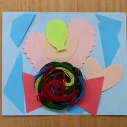 Мастер-класс «Праздничная открытка»