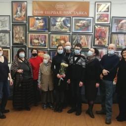 «Моя первая выставка» знакомьтесь: Минина Даша