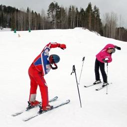 Виртуальная встреча «Лыжная тренировка»
