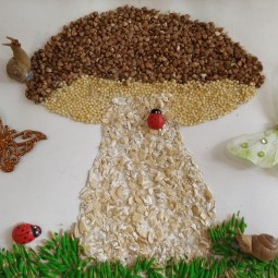 Виртуальный мастер-класс «Осенние грибочки»