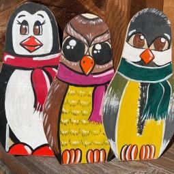 Мастер – класс по росписи деревянной заготовки «В мире животных»