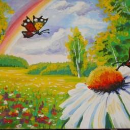Выставка рисунков «Нарисуй лето яркого цвета»
