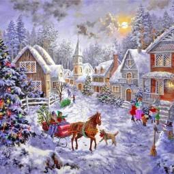 Литературная гостиная «Рождества волшебные мгновения»