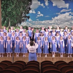 Концерт хора «Капелька» Детской хоровой школы «Подлипки»