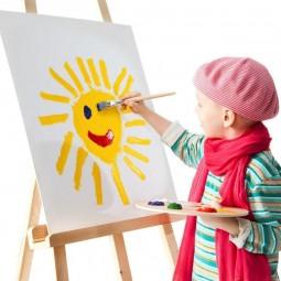 Занятие по рисованию для детей