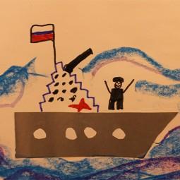 Выставка творческих работ кружка живописи «Радуга»