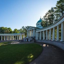 Посещение музея-усадьбы «Архангельское»