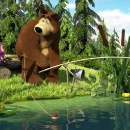Мультфильм «Ловись рыбка», посвященный дню охотника и рыбака.