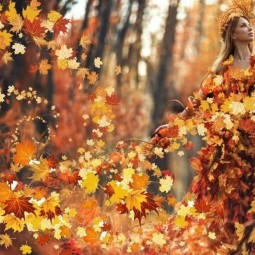 Развлекательная программа «Праздник царицы Осени»