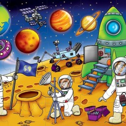 Программа «Весёлый космодром»