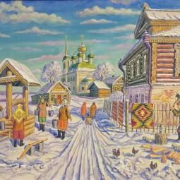 Выставка «Зимнее настроение»