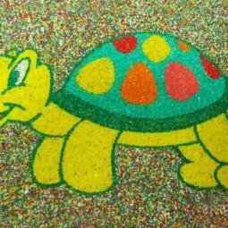 «Радужный песок» - мастер-класс