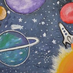 Мастер-класс «Космическая ракета»