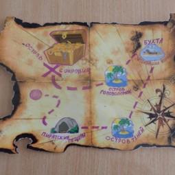 «Остров сокровищ» - приключенческий квест