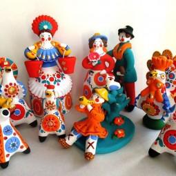 Выставка «Глиняная игрушка»