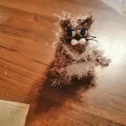 Мастер-класс «Кошка»